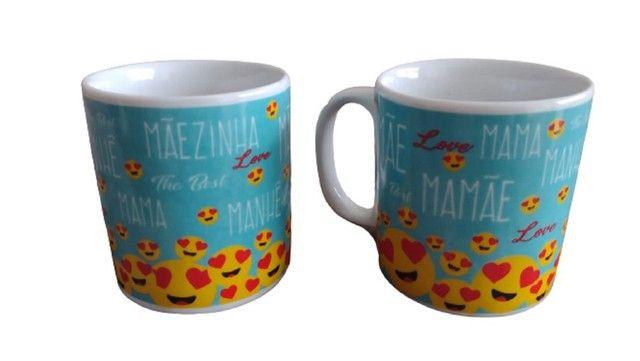 Caneca Personalizada Dia das Mães - 320ml Vários Modelos - Foto 4