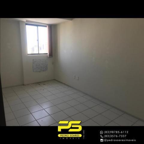 Apartamento com 2 dormitórios para alugar, 56 m² por R$ 1.700/mês - Tambaú - João Pessoa/P - Foto 7