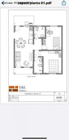Casa para Venda em Várzea Grande, Nova Fronteira, 2 dormitórios, 1 suíte, 2 banheiros, 2 v - Foto 6