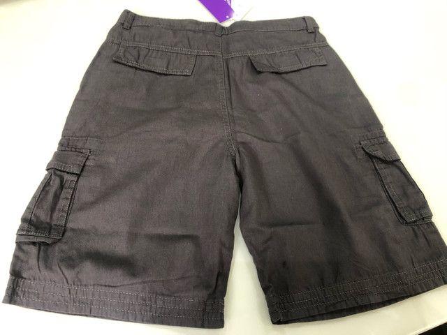 Bermuda infantil Nova. Roupa short menino masculino. - Foto 2
