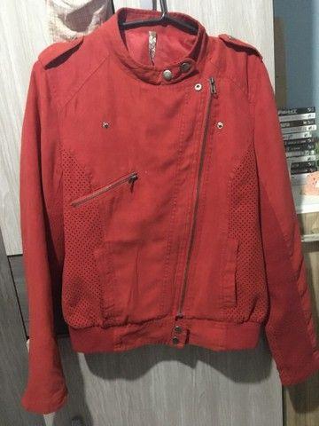 Jaqueta Importado Vermelha  - Foto 2