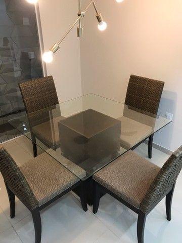 Conjunto de mesa e cadeiras  - Foto 2