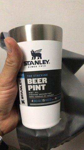 Caneca Térmica Stanley Inox 710ml 5hs gelado Original pronta entrega - Foto 5