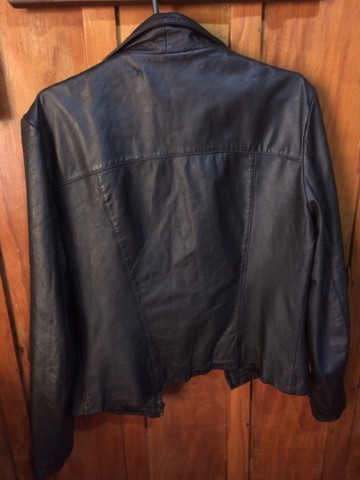 Jaqueta de couro feminina  - Foto 4