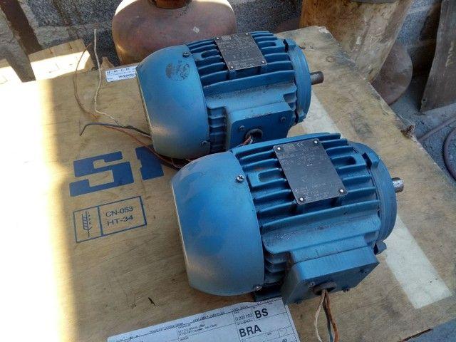 Dois Motores Weg  trif 2cv 3400 RPM - Foto 2