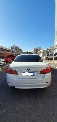 Torro! Ipva Pago!!! BMW 528I 2.0 Turbo - Top de Linha, 2013, interior Caramelo, 245 Cv - Foto 7