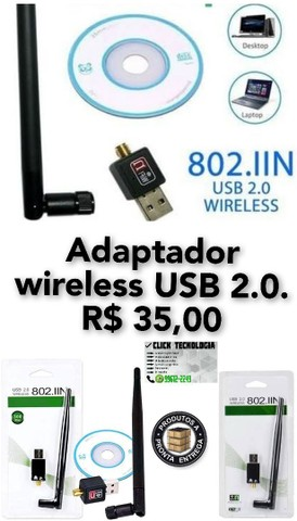 Adaptador wireless 2.0