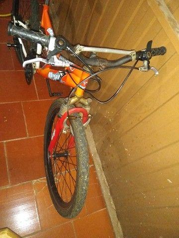 Bicicleta 24 marchas 2 amortecedores - Foto 6