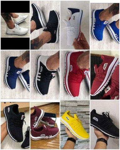 Vendo tênis fila e adidas top ( 115 com entrega) - Foto 3