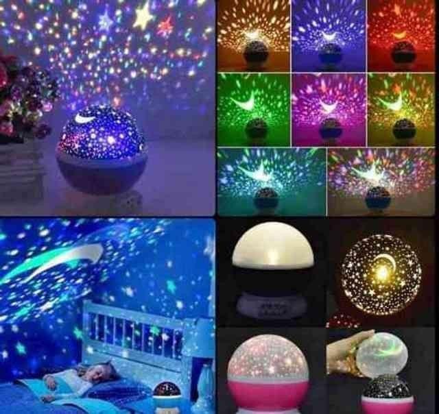 Abajur Luminária Céu Estrelado PROMOÇÃO! - Foto 2