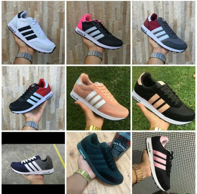 Vendo tênis nike zoom e adidas neo ( 115 com entrega ) - Foto 4