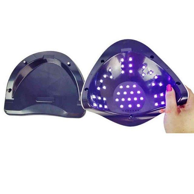 Cabine de Unhas Forninho 45 LEDS Manicure SUN V1 ORIGINAL - Foto 3