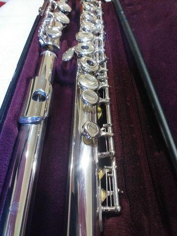 Flauta transversal yamaha 261 japan revisada  - Foto 4