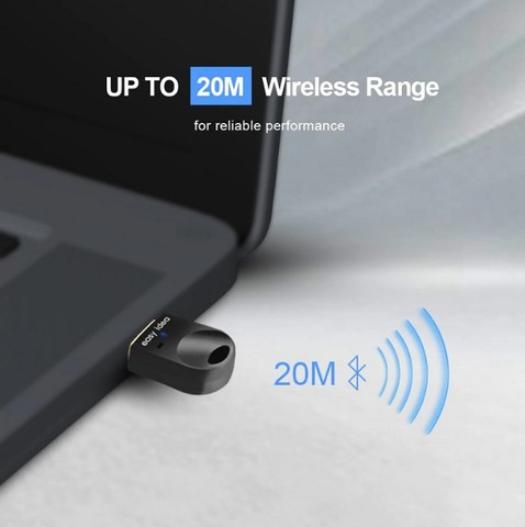 Adaptador Easy idea Usb Bluetooth 5.0 para PC e Notebook. Compatível com windows  - Foto 3