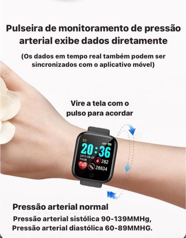 SmartWatch Prata D20 Android / iOS - Foto 4