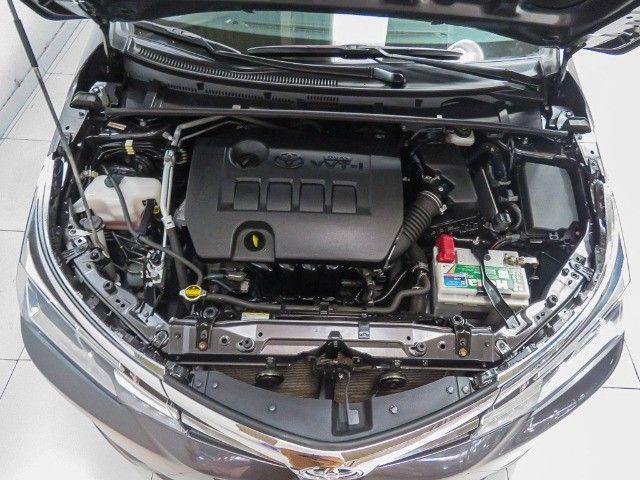 Toyota Corolla 1.8 GLI Upper Flex Automático 2018/2018 - Foto 18