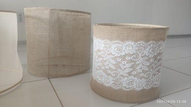 Cupulas e luminárias artesanais
