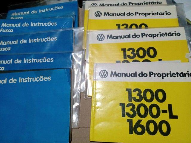 Manual Proprietário Volkswagen Todos Modelos e Versões Originais Fábrica - Foto 4