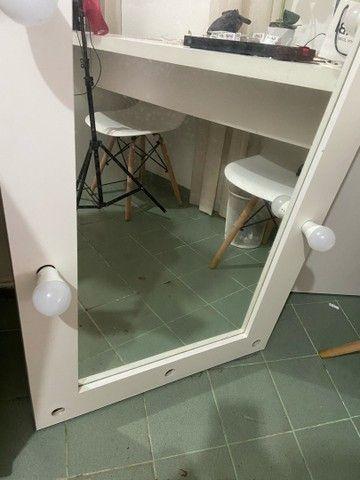 Vendo espelho camarim  - Foto 3