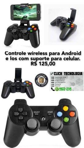 Controle sem fio para Android e Ios