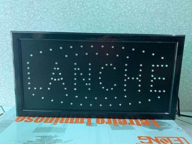 Painel luminoso de Led Lanche - Foto 3