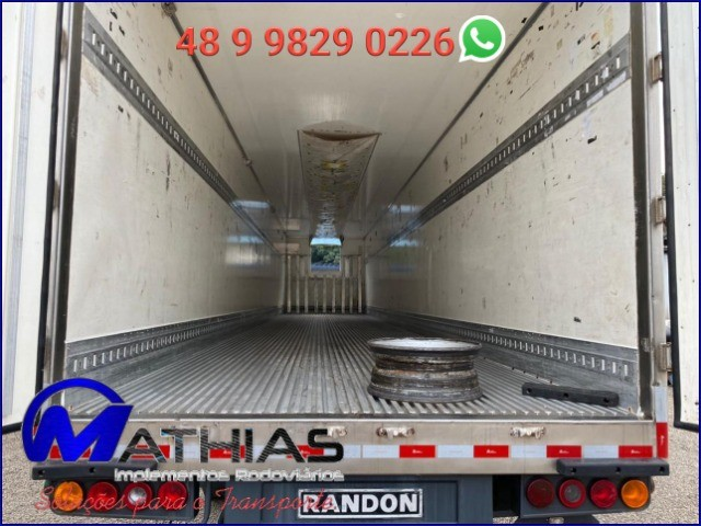 semi reboque ano 2005 28 p randon Rodas raiada - Foto 2