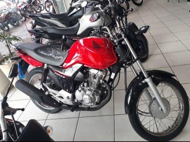 Moto Honda Start 160 Entrada: 1.335 Financiada!!! - Foto 2