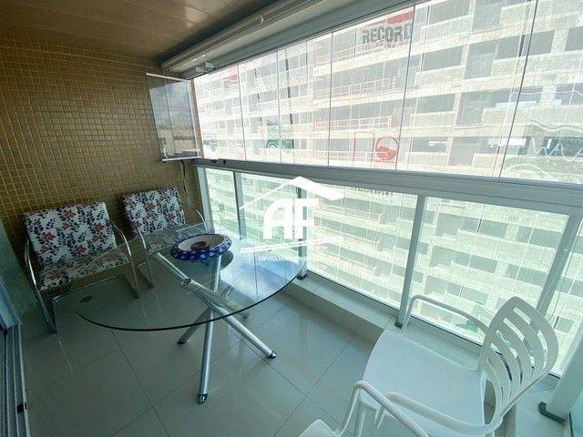 Apartamento com varanda com vista permanente para o mar - Localizado na Ponta Verde - Foto 4