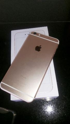 Iphone 6s plus 128gb gold, na garantia