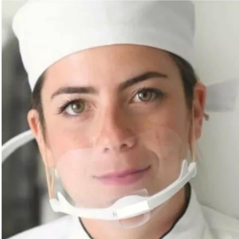 Máscara Profissional Higiênica Estética Hospital Podologia - Foto 2