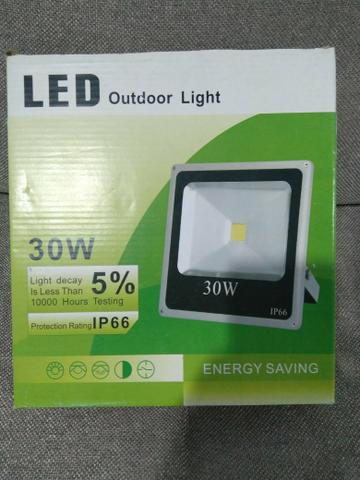 Refletor 30W de LED ip66 a prova d'água