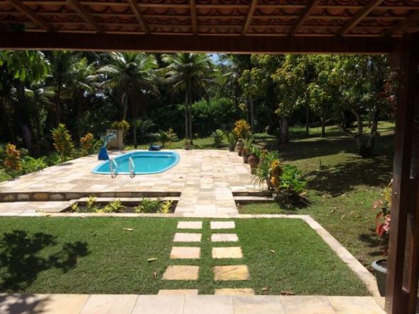 Casa de campo com piscina para famílias