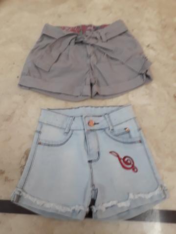 Shorts tamanho 6