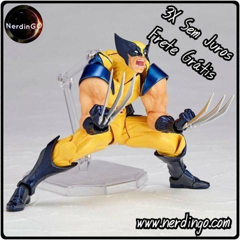 Action Figure Wolverine - Frete Grátis