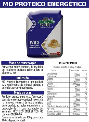 Sal mineral em promoção.