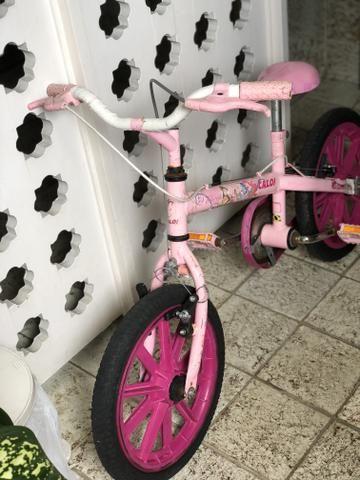 Bicicleta Caloi aro 16 princesas