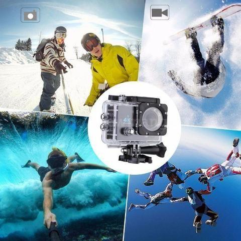 Action Cam Wifi - Câmera Capacete Esporte Mergulho Hd 1080p 4k