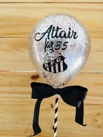 Topo de bolo balão (cake balloon) - Foto 2