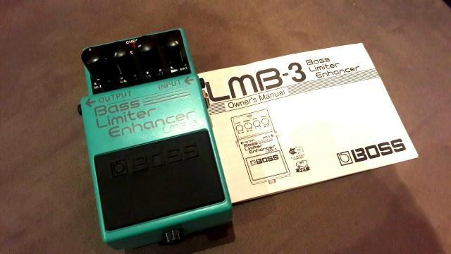 Pedal Boss Bass Limiter Enhancer