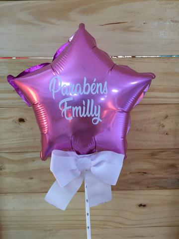 Topo de bolo balão (cake balloon) - Foto 5
