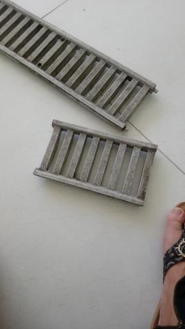 Grelha de piso canaleta tigre Usada ralo - Foto 2