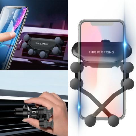 Suporte para celular Gravidade para usar no carro!!!