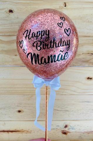 Topo de bolo balão (cake balloon) - Foto 3