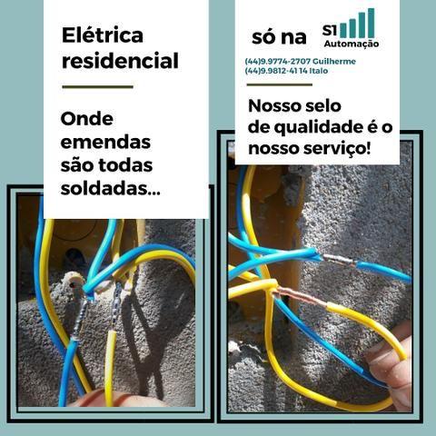 Serviços de elétrica e segurança eletrônica