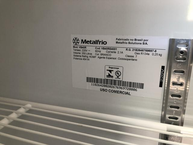 Geladeira Expositora Metal Frio 350 Litros - Foto 3