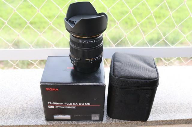 4c9ed058fddcc Lente Sigma 17-50mm F 2.8 Ex Dc Os Hsm para Canon - Áudio, TV, vídeo ...