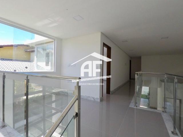 Casa nova no condomínio San Nicolas - 4 suítes sendo 1 máster com closet - Foto 12