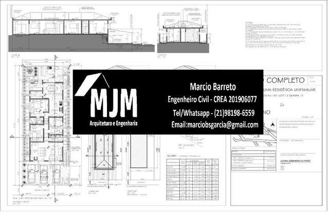 Engenheiro civil - Projeto Arquitetonico - Planta baixa - Projeto estrutural - Foto 3