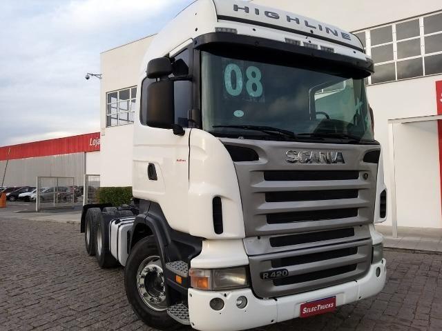 Scania Higlaine R420 6x4 S/reduçao - Selectrucks - Foto 5