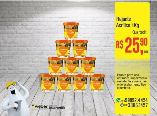 Rejunte Acrílico Quartzolit - 01 kg